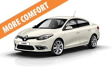 Renault Fluence - Rent a Car Alba